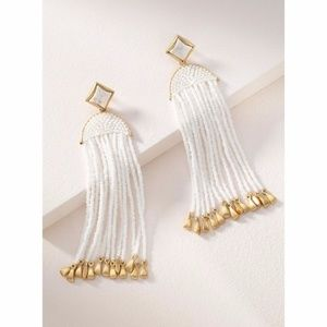 Stella and Dot Ashley Tassel Earrings